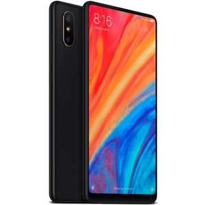 """Smartphone 5,99"""" Xiaomi Mi Mix 2S - S845, 128Go, 6Go RAM, charge sans-fil, Noir, 4G (avec B20)"""