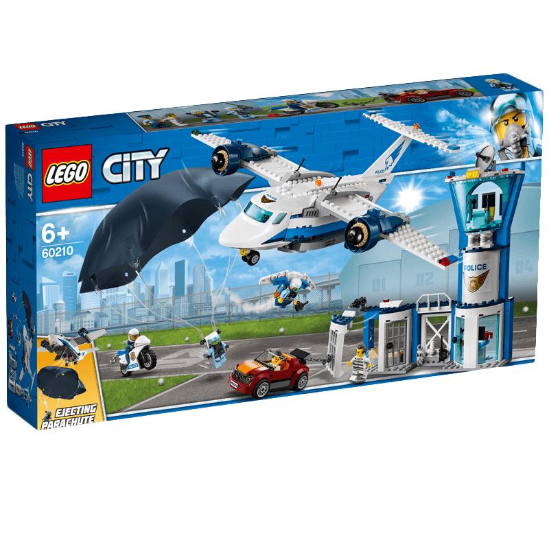 25€ offerts en bon d'achat dès 50€ d'achat - Ex : LEGO City - La base aérienne de la police + 25€ en bon d'achat (utilisable dès 60€)