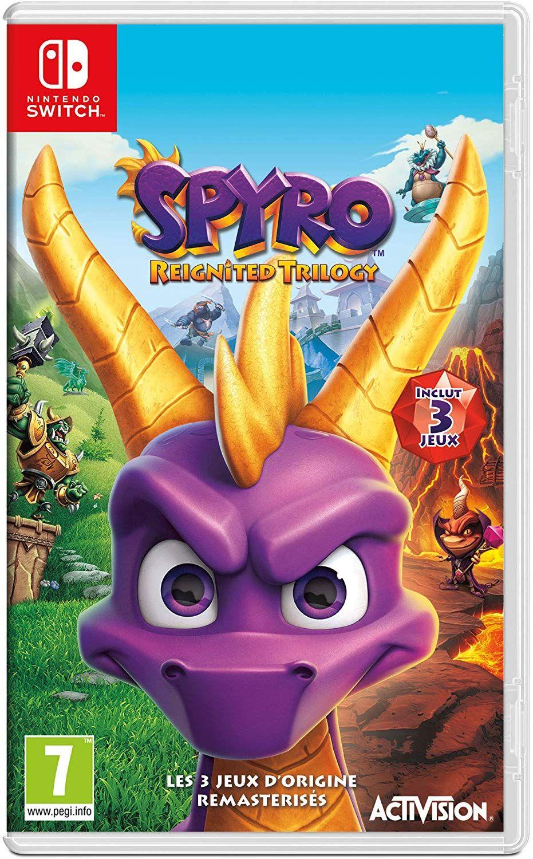 Spyro Reignited Trilogy sur Nintendo Switch
