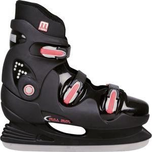 Sélection de patins à glace (adulte et enfant) Nijdam en promotion : Ex : NIJDAM Patins de hockey sur glace rigides - Taille 40 Noir / Rouge