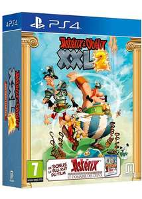 Blu-ray Astérix « Le domaine des dieux » + Astérix & Obélix XXL 2 : Edition limitée sur PS4 + Jusqu'à 4€ de SuperPoints