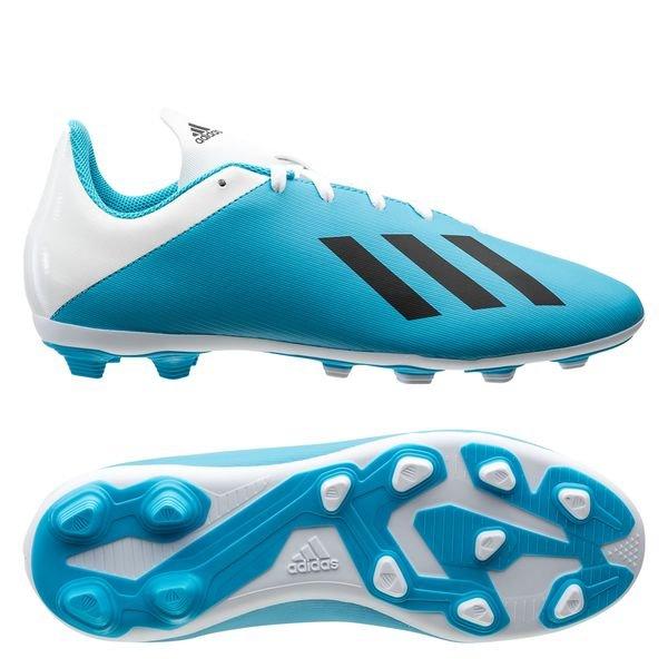 Chaussures de Football à crampon Adidas X 19.4 FG/AG Hard Wired - du du 30 1/2 au 37 1/3