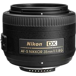 Objectif photo Nikon AF-S DX Nikkor 35mm f1.8G