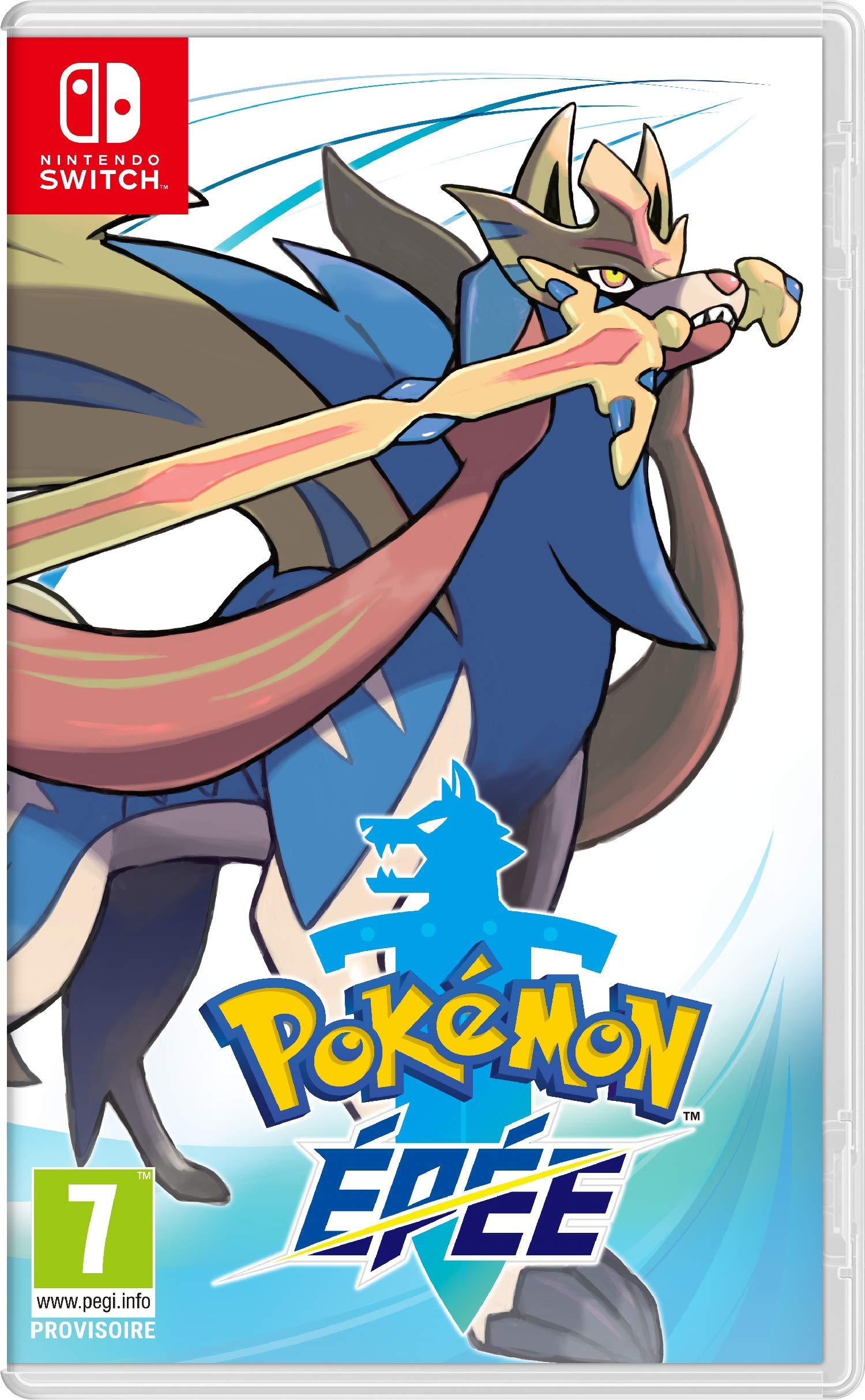 [Pré-commande] Pokémon Épée ou Bouclier sur Nintendo Switch + 10€ en bon d'achat (Utilisable dès 40€ d'achat sur le non-alimentaire)
