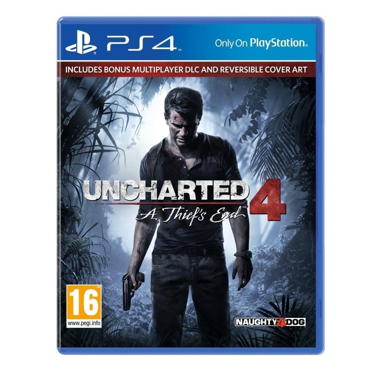 Uncharted 4 sur PS4 (+0.83€ en superpoints)