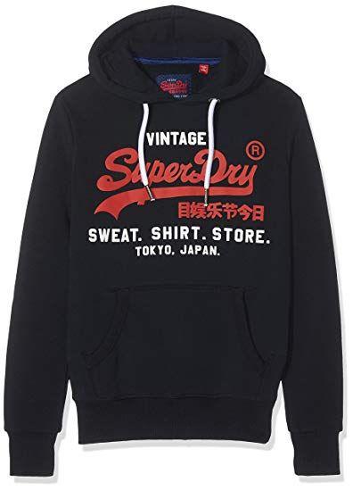 Sweat homme Superdry Shop Duo Hood