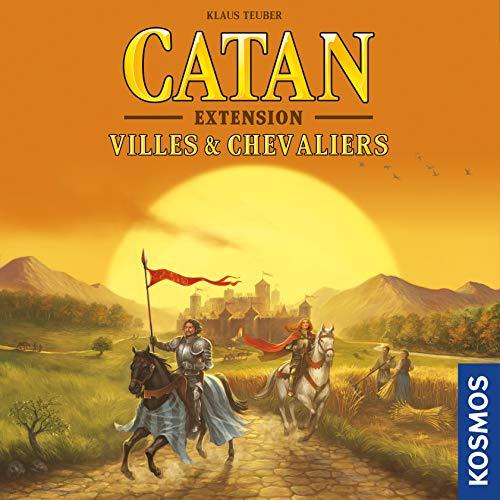 Extension pour jeu de société Catan - Villes Et Chevalier FICAT04