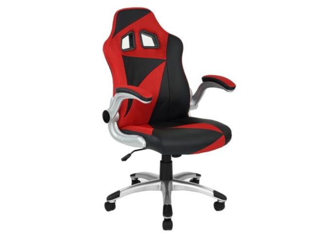 Fauteuil de bureau Gamer Duo - Noir et rouge