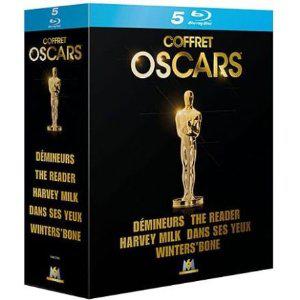 Coffret Oscars - Démineurs + Harvey Milk + The Reader + Winter's Bone + Dans ses yeux [Blu-ray]