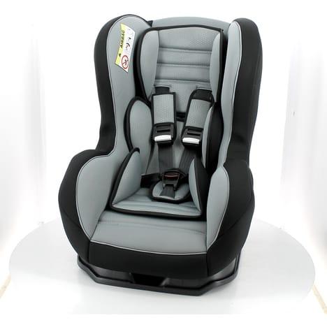Siège auto Auchan Baby - Groupe 0/1/2, Harnais 5 points, Inclinable, Protection aux chocs latéraux