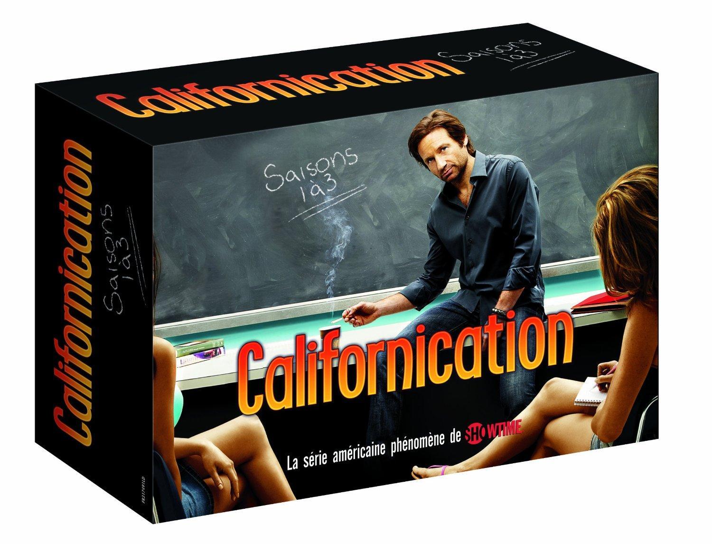 Coffret DVD Californication - Intégrale des Saisons 1 à 3
