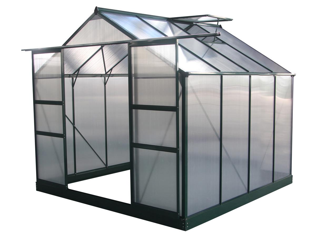 Serre de jardin Dahlia - en polycarbonate, 6.15 m²