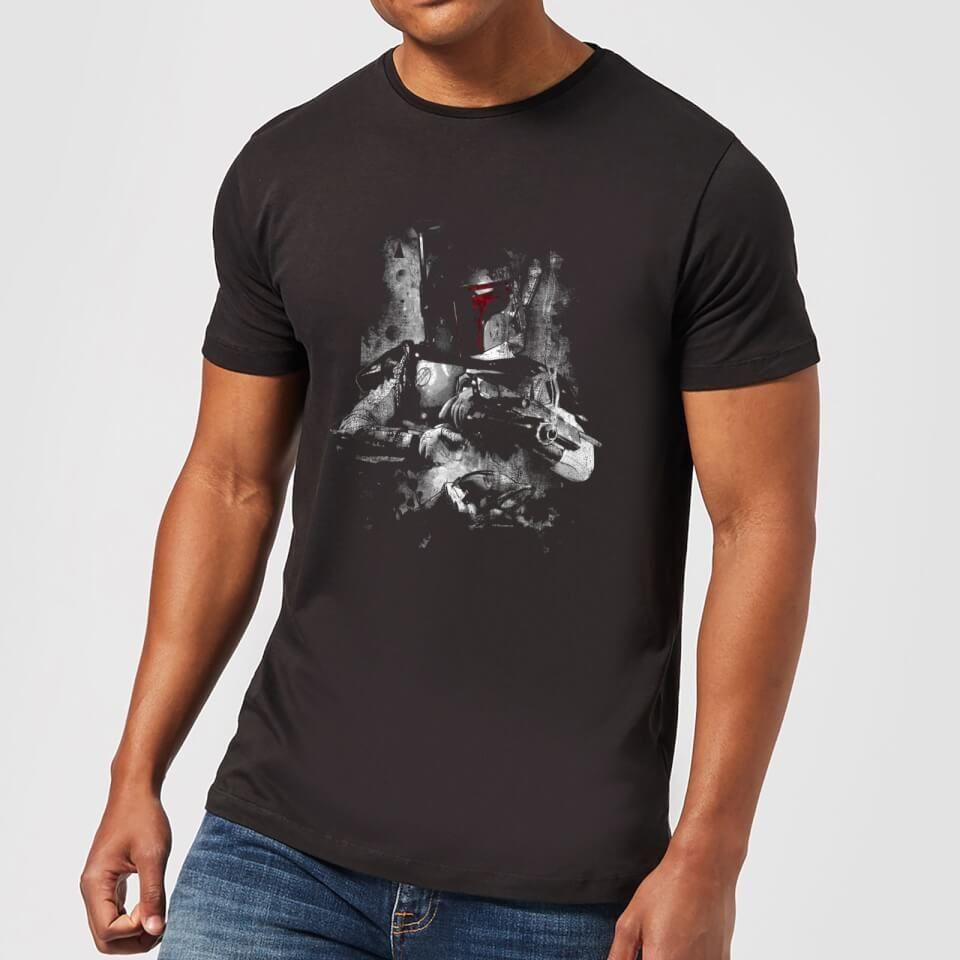 Sélection de T-shirt Star Wars en réduction - Ex: T-shirt Homme Boba Fett