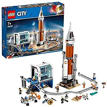 Jouet Lego La Fusée Spatiale Et Sa Station De Lancement 60228