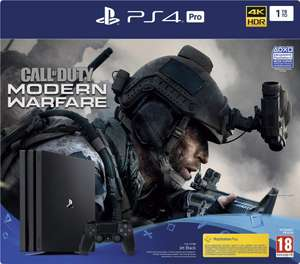 Pack Console Sony PS4 Pro 1 To + Call Of Duty Modern Warfare