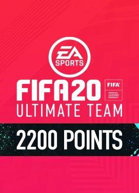 2200 FUT Points pour Fifa 20 sur PC (Dématérialisé, Origin)