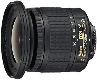 Objectif Nikon AF DX Nikkor 10-20mm 4.5-5.6G VR
