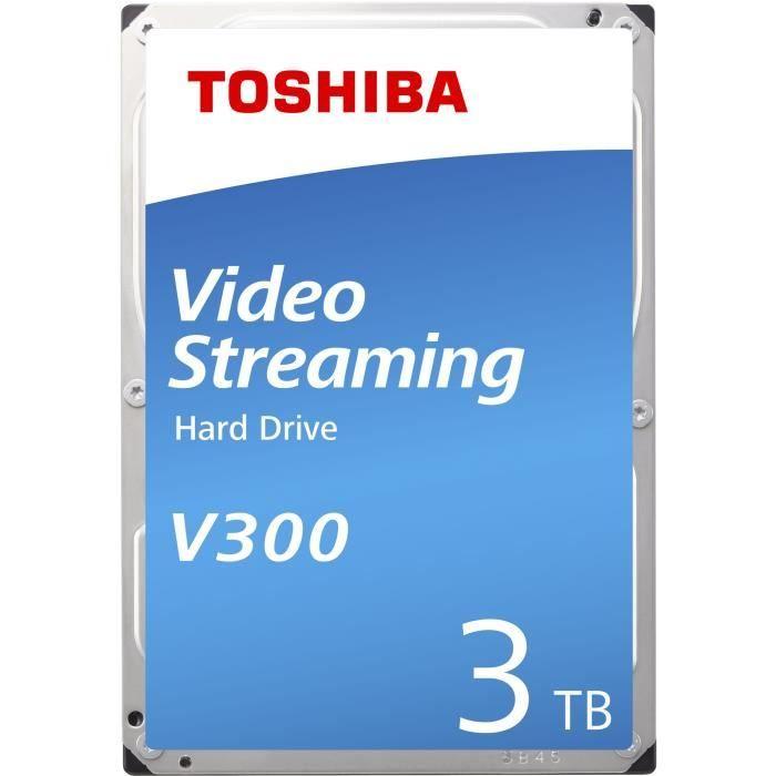 """Disque Dur Interne 3,5"""" Toshiba V300 - 3 To, 5940 RPM"""