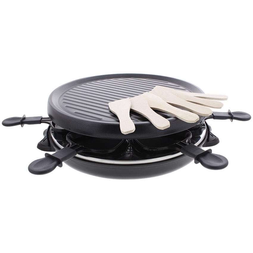 Appareil à raclette et Grill Tristar - 6 personnes (Spatules incluses)