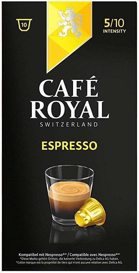 Paquet de 50 capsules Cafe Royal Espresso