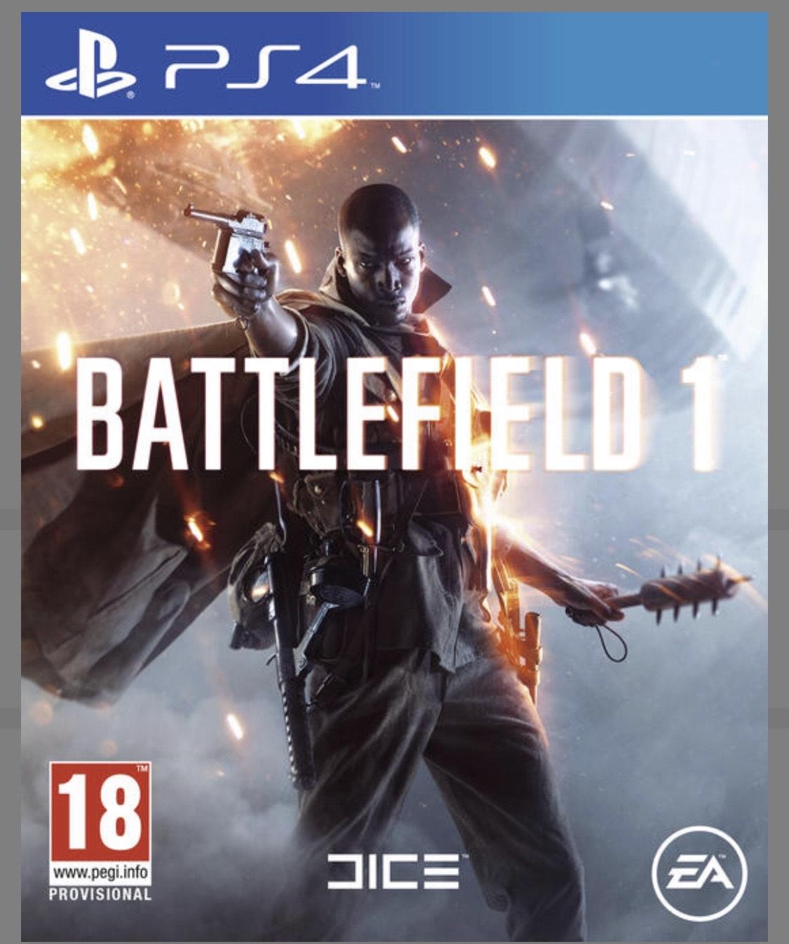 Battlefield 1 sur PS4 & Xbox One (via l'Application)