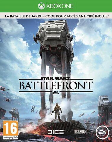 Star Wars Battlefront Edition limitée sur Xbox One (via l'Application)