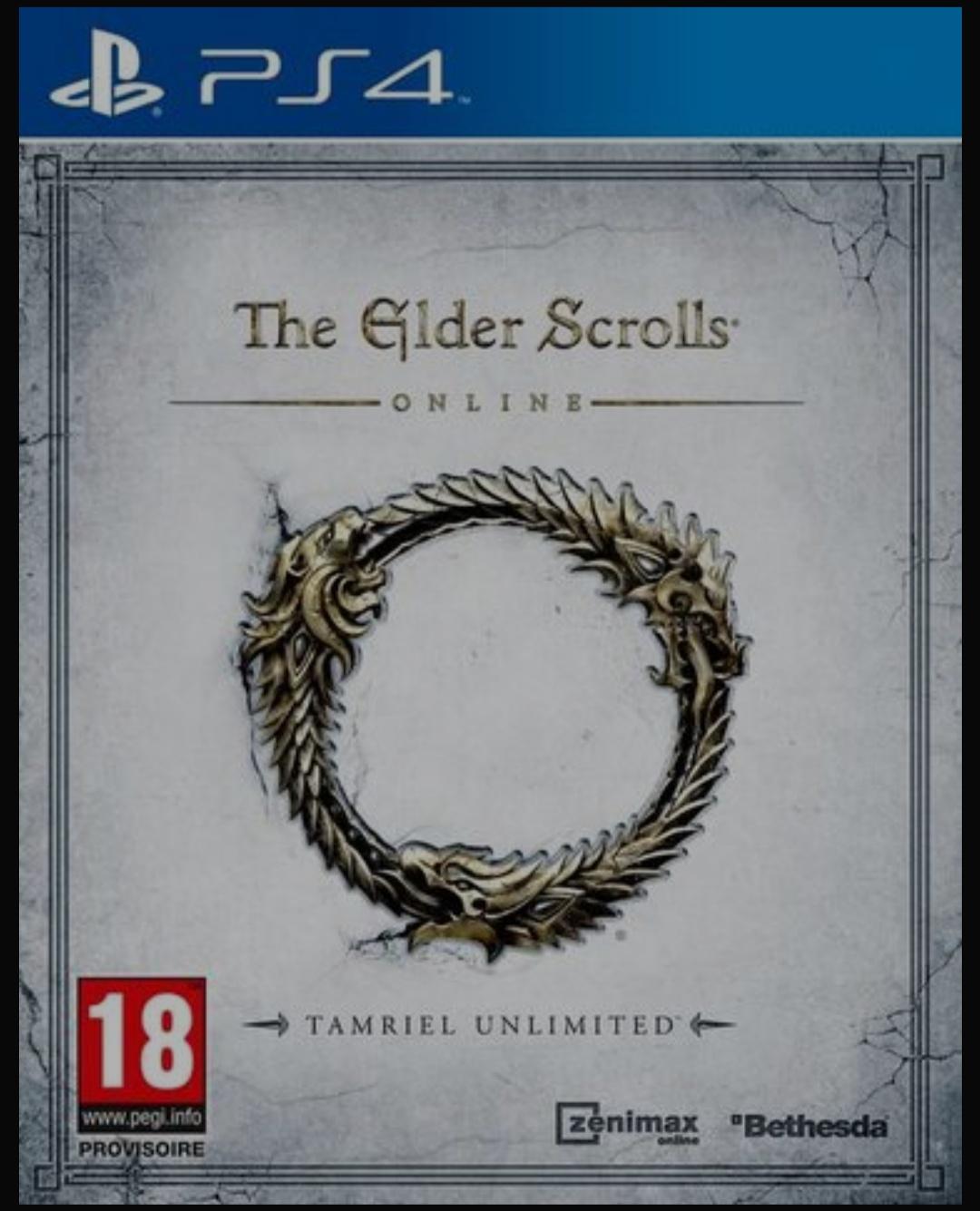 Sélection de jeux à 0.99€ - Ex : Elder Scrolls Online Tamriel Unlimitedsur PS4 (via retrait en magasin)