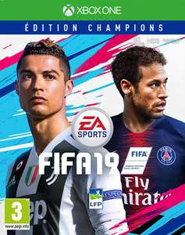 Jeu FIFA 19 Deluxe Edition Champions sur Xbox One