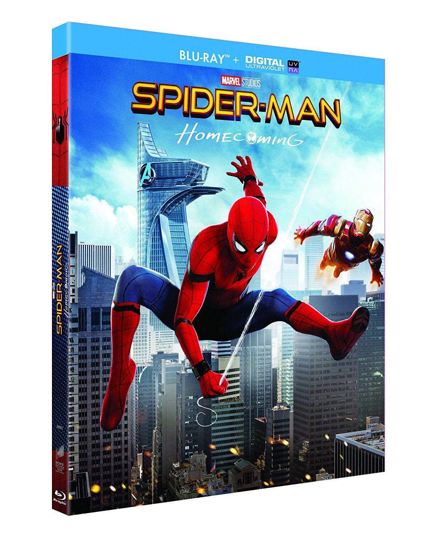 Blu-ray Spider-man Homecoming