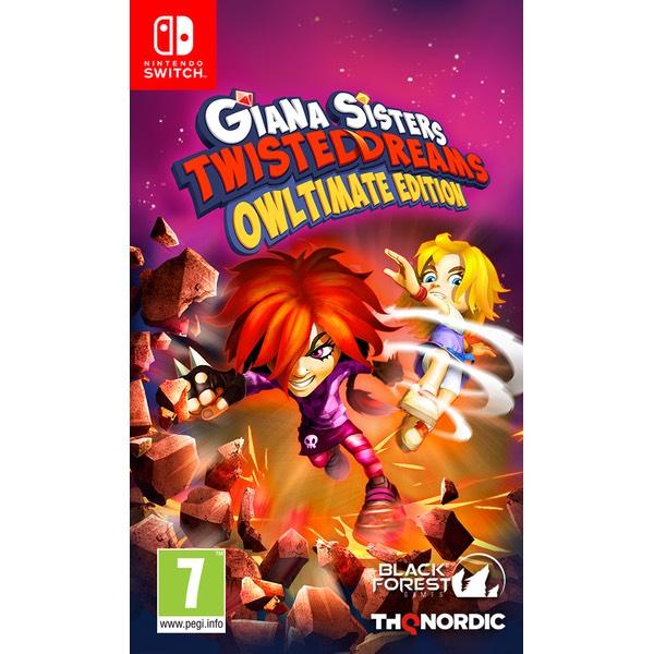 Sélection de jeux Switch à 9,99€ - Ex : Giana Sister's Twitsted Dreams