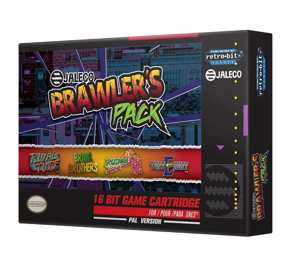 Pack Retro-Bit Jaleco Brawlers Super Nintendo pour SNES