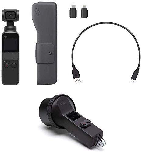 Caméra portable stabilisée DJI Osmo Pocket (3 Axes) + Caisson étanche