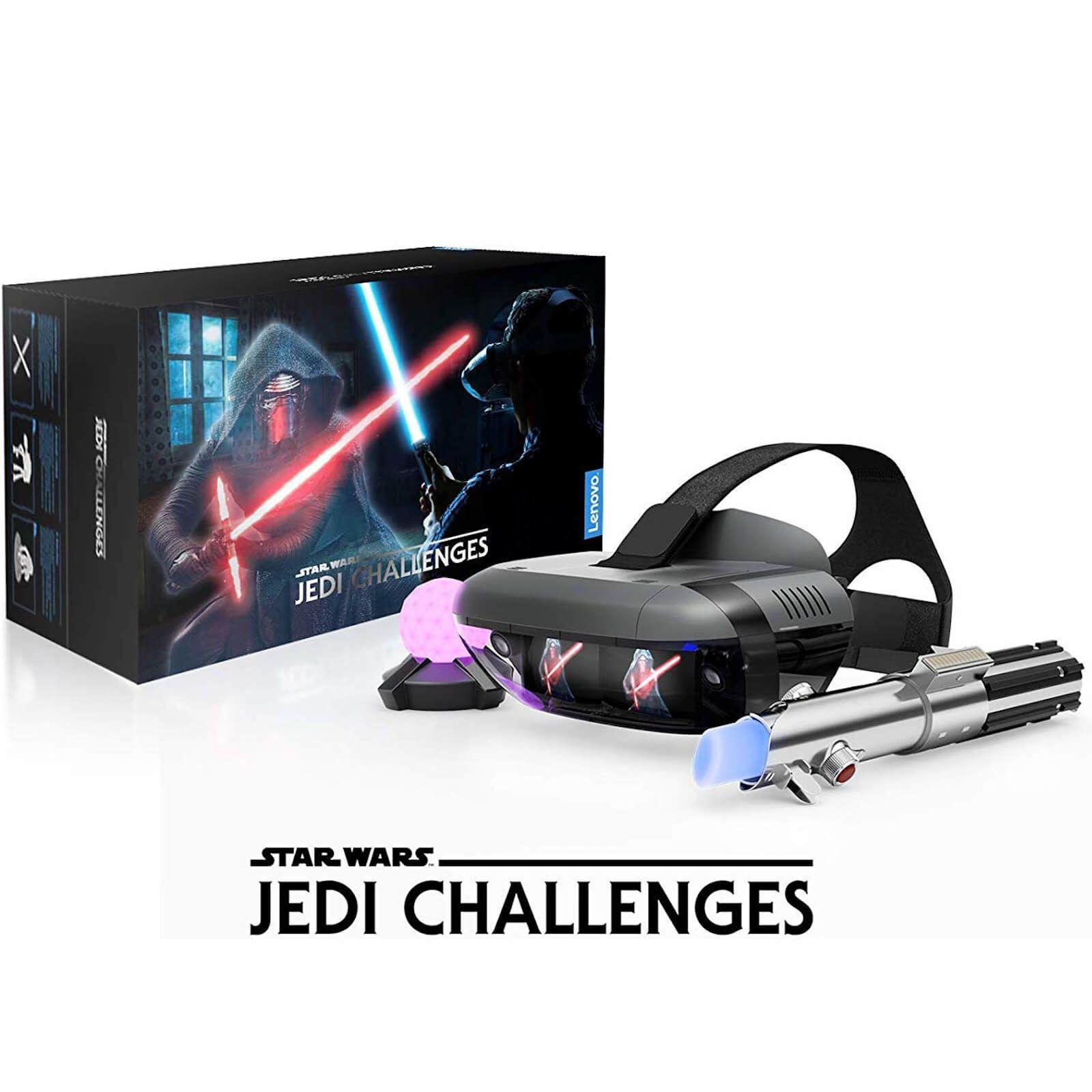 Pack Lenovo Casque de réalité augmenté Star Wars Jedi Challenges