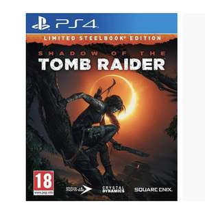 Shadow of the Tomb Raider Edition Steelbook sur PS4