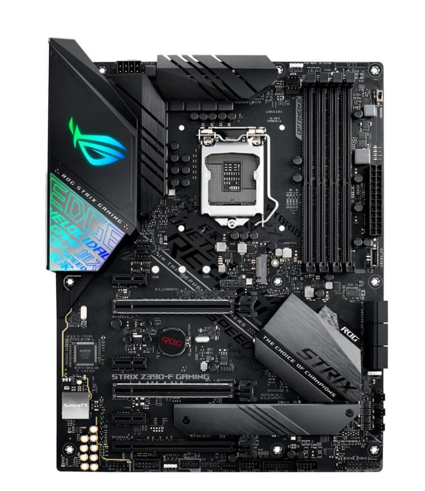 Carte mère Asus ROG Strix Z390-F Gaming - Socket LGA 1151, Intel Z390 (Frontalier Suisse)