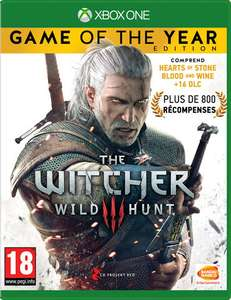 The Witcher 3 :  Game Of The Year Edition sur Xbox One