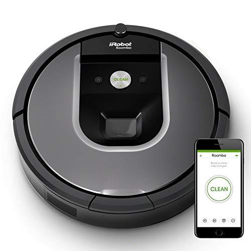 Aspirateur robot connecté et programmable iRobot Roomba 960  - Noir