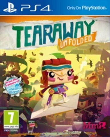 Jeu Tearaway sur PS4