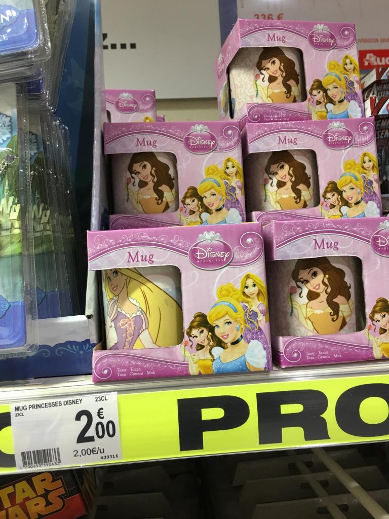 Mug Disney Princesse 23cL