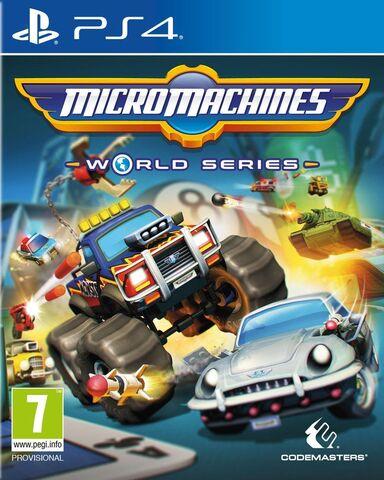 Jeu MicroMachines World Series sur PS4