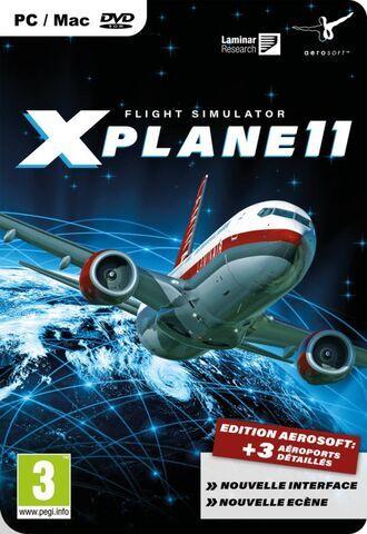 Jeu X-Plane sur PC