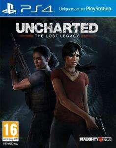 Uncharted Lost Legacy sur PS4