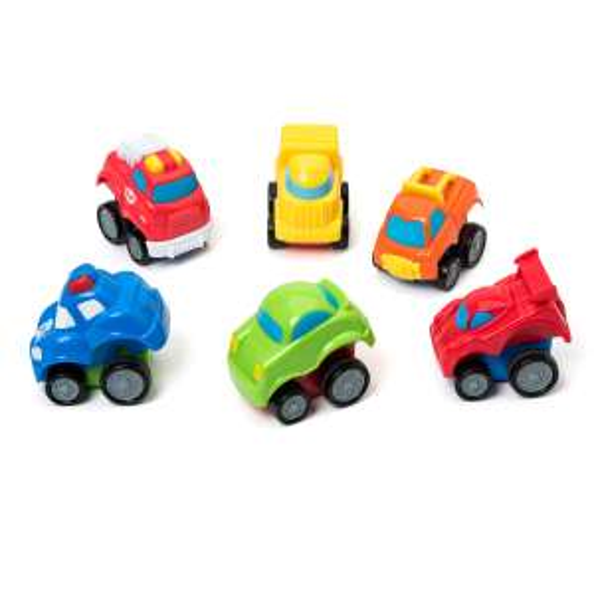 Lot de 6 véhicules Press and go Oxybul