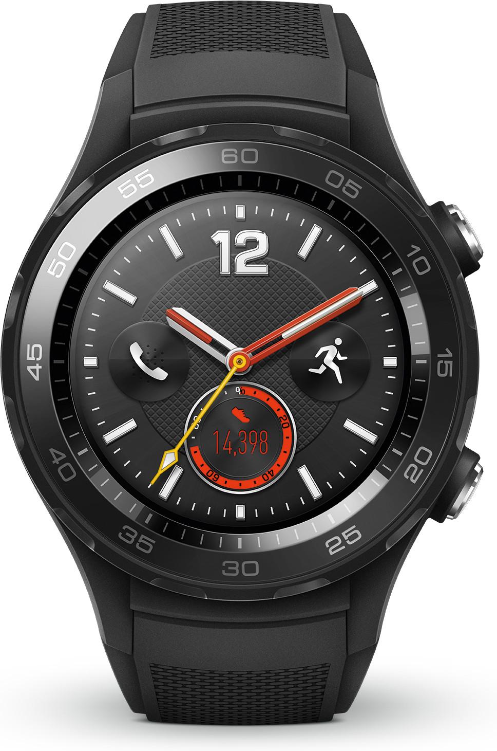 Montre conenctée Huawei Watch 2 Sport 4G noir
