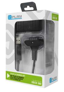 Kit Play & Charge pour manette Xbox 360