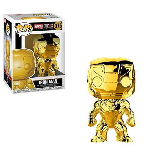 Sélection de Figurine Funko Pop en promotion - Ex: Figurine Funko Pop Bobble Marvel Studios 10: Iron Man Chrome