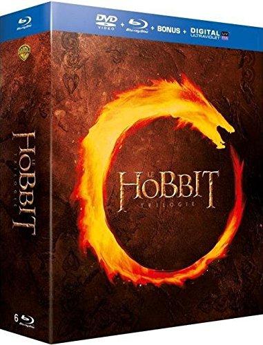 Coffret Blu-ray + DVD Trilogie Le Hobbit