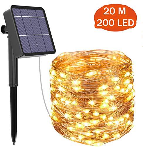 Guirlande LED de jardin Solaire - 200 LED (vendeur tiers)