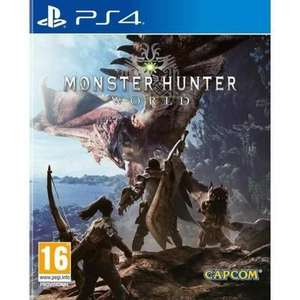 Monster Hunter World sur PS4 (vendeur tiers)