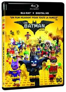 Blu-Ray Lego Batman (édition digitale incluse) ou Resident Evil : Vendetta